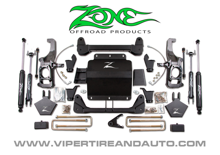 ZONE Offroad Lift Kits available at Viper Tire and Auto - Fort Worth, TX